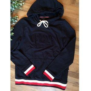 Tommy Hilfiger Striped Pullover Sweatshirt